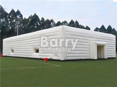 Blow up event white inflatable cube tent inflatable tent price China  BY-IT-024